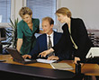 Stock Photo : Business People &amp;amp; Computer Pictures: office scenes use meetings