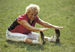 Stock Photo : Aerobics Stock Image: old weight fitness sports