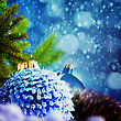 Sphere Abstract Christmas Backgrounds For Your Design stock image