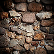 Background Of Old Stone Wall Texture stock photography