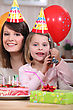 Small Birthday Party stock image