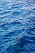 Blue Water Waves Effects. Sun Light stock photography