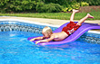 Boy Playing in the Pool