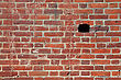Chill Brick Wall stock image