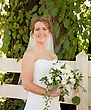 Stock Photo : Smiling Stock Photo: Bride