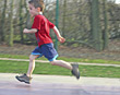 Stock Photo : Playful Stock Image: Child Running