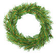 Christmas Green Framework stock image