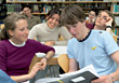 Stock Photo : Casual Stock Photography: College Students In Classroom