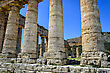 Stock Photo : Italy Stock Photography: Doric temple in Segesta, Italy