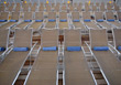 Stock Photo : Symbolic Pictures: Empty Lounge Chairs On The Deck