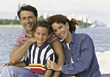 Family on Vacation stock photography