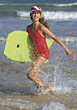 Stock Photo : Beach Stock Photo: Girl Having Fun at the Beach