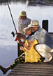 Stock Photo : Retiring Pictures: Grandparents Going Fishing