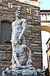 Stock Photo : Italy Stock Photo: Hercules And Cacus Statue Near Palazzo Vecchio. Florence, Italy