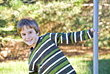 Stock Photo : Pose Pictures: Little Boy Playing