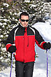 Stock Photo : Athletic Stock Photography: Male Skier
