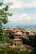 Italy Montalcino, Toscany stock photo
