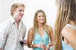 Stock Photo : Groups Small Stock Image: holding sober collar chap