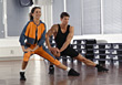 Stock Photo : Aerobics Pictures: self-defense exercising weight fitness