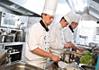 Professional Chefs Preparing Salad