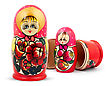 Stock Photo : Small Stock Image: Russian Dolls