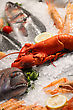 Stock Photo : Prepared Food Stock Image: Seafood