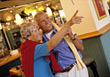 Stock Photo : Retiring Stock Photography: Senior Couple in Restaurant