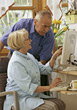 Stock Photo : Retiring Stock Photography: Seniors Browsing the Internet