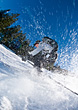 Stock Photo : Alpine Stock Photography: Skier