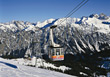 Stock Photo : Alpine Stock Image: Skilift in Ski Resort