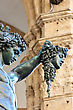 Statue Of Perseus With Head In Hand. Florence. Italy. - stock photography