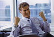 Stock Photo : Business People &amp;amp; Computer Stock Photo: Success