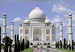 Landmark Taj Mahal, India stock photo