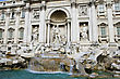 Stock Photo : Italy Stock Photography: Trevi fountain in Rome, Italy