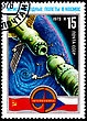 Stock Photo : Earth Stock Photo: USSR - CIRCA 1978: A Postage Stamp Shows The International Flights In The Space, Circa 1978