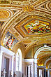 Vatican Museums - Gallerys Of Vatican. Italy, Rome stock photography