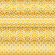 Seamless Floral Golden Borders