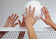 Stock Photo : Athletic Stock Photography: Volleyball